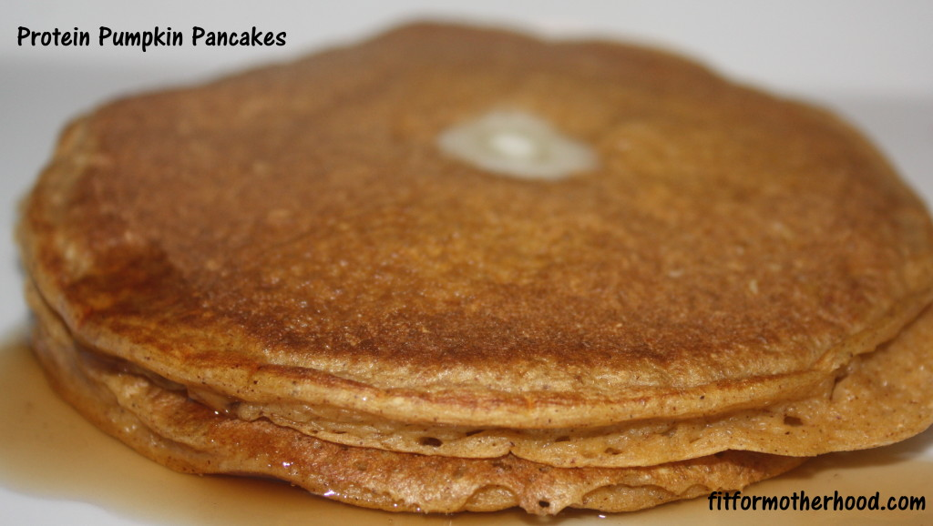 Pumpkin Pancakes - protein