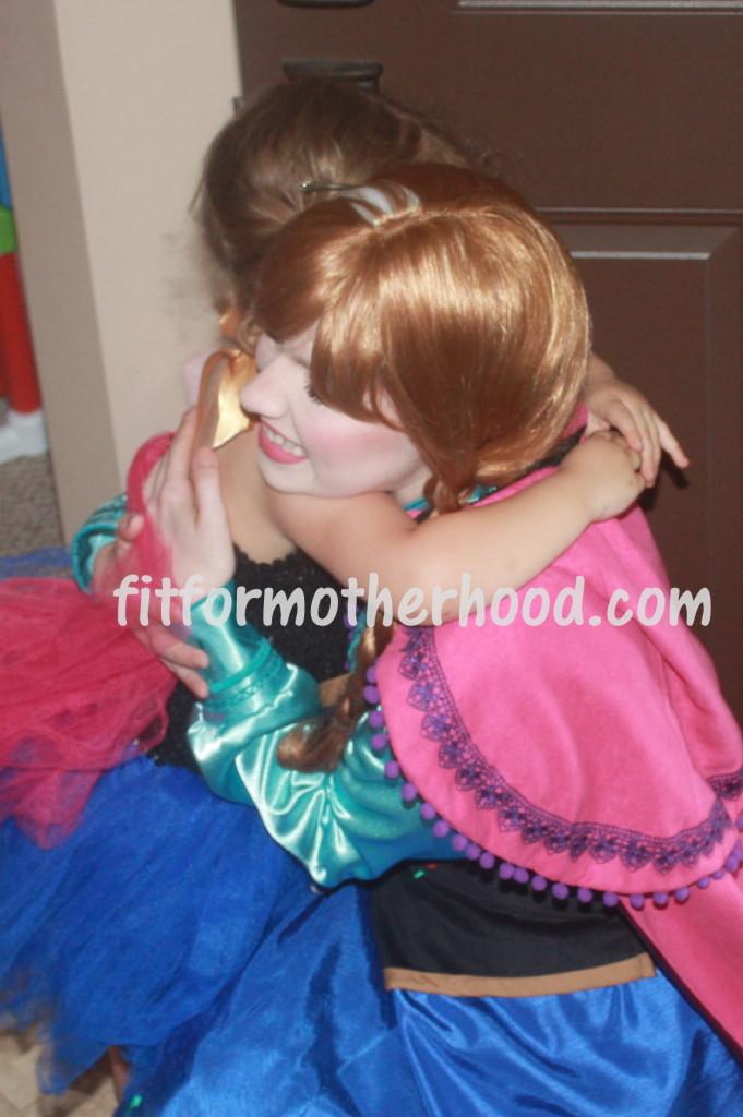 mimm - bella hugging anna