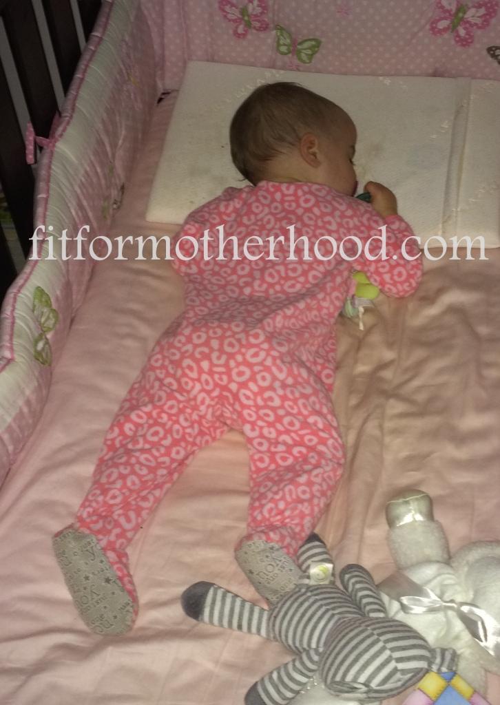 16 months - mckayla sleeping