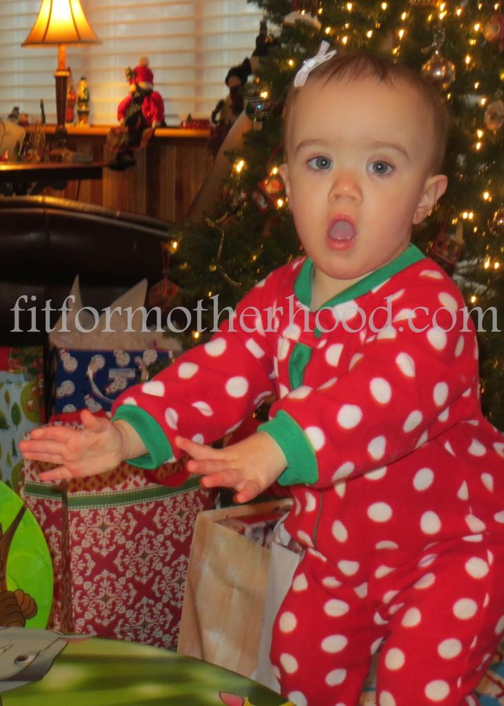 christmas 2014 - gram - mckayla standing