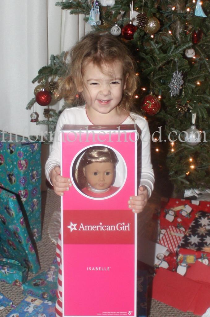 christmas 2014 - isabella doll