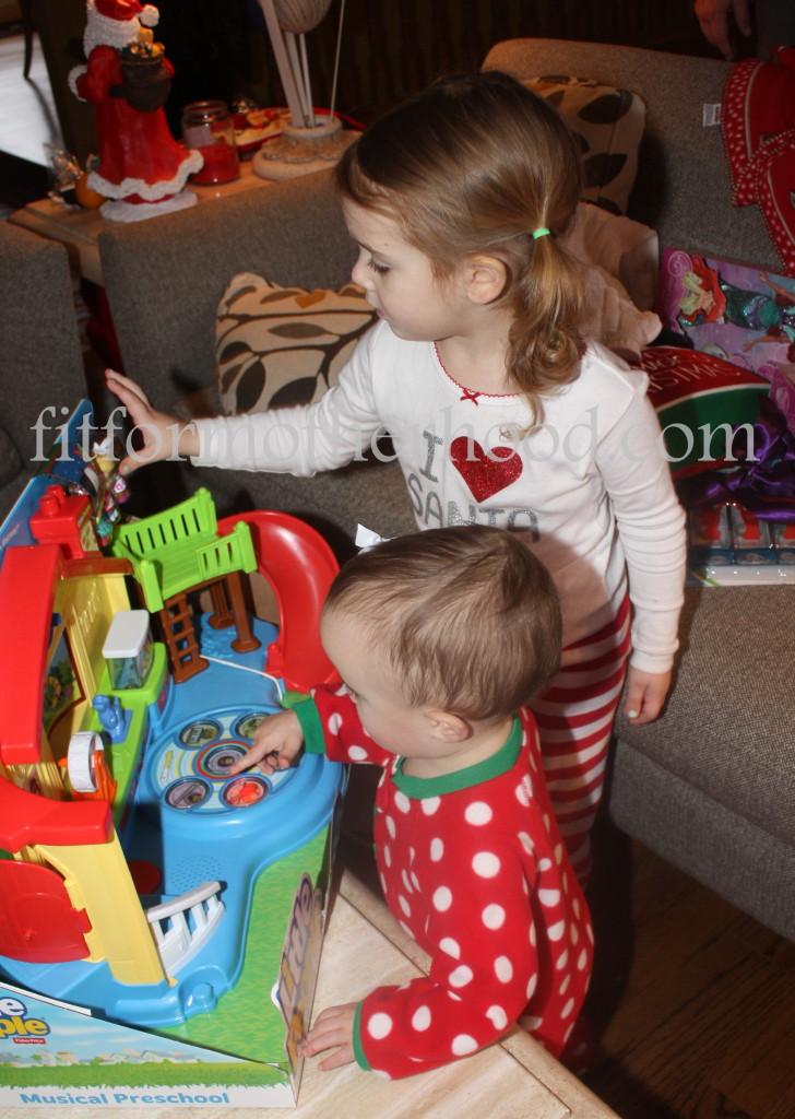 christmas 2014 - mckayla isabella playing