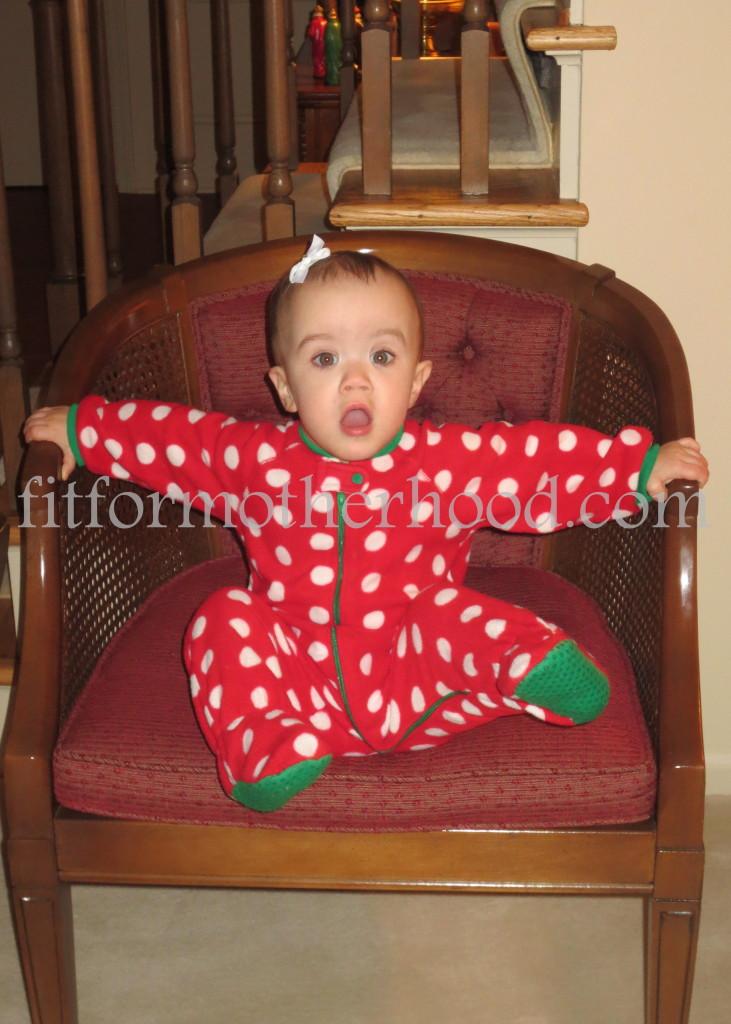 christmas 2014 - nana - mckayla