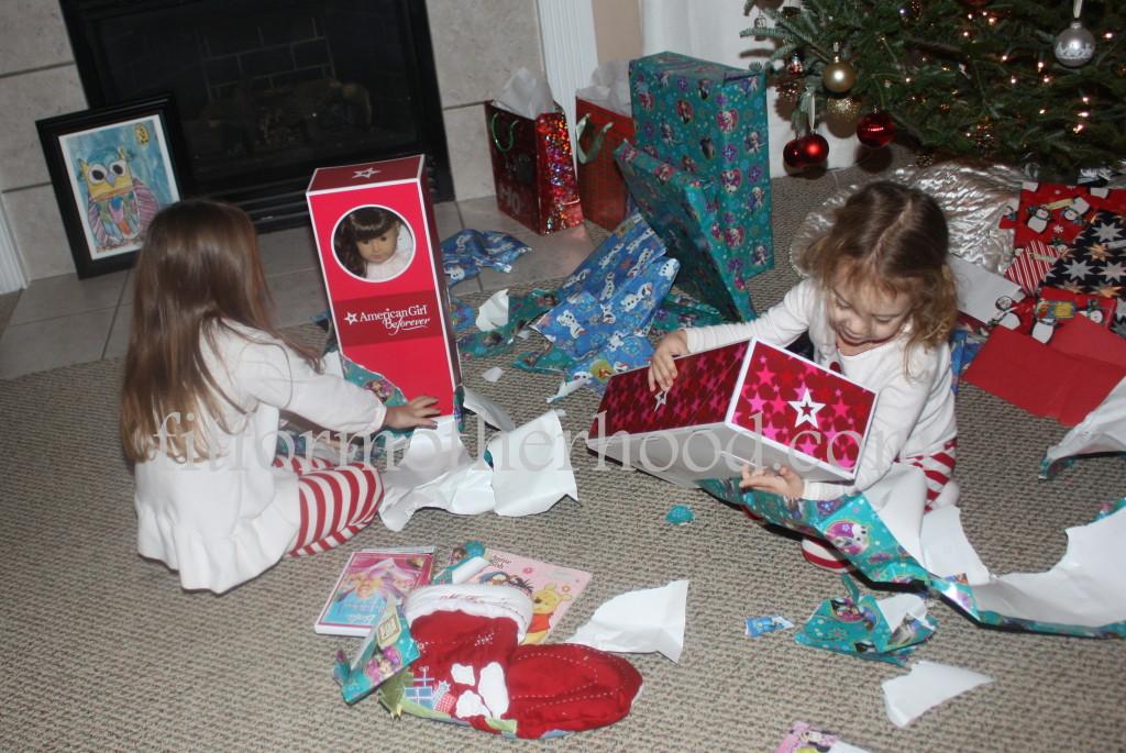 christmas 2014 - sophia isabella american girl