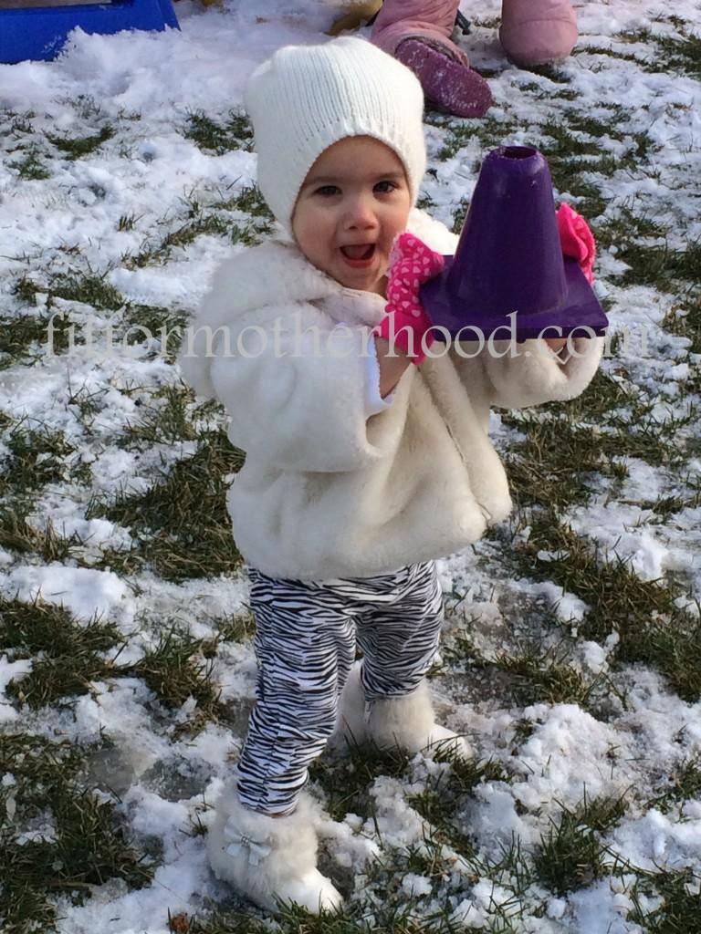 mimm - mckayla outside snow