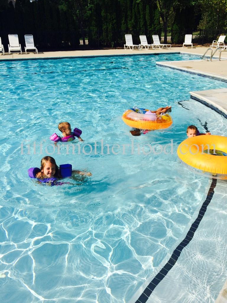 think - girls pool