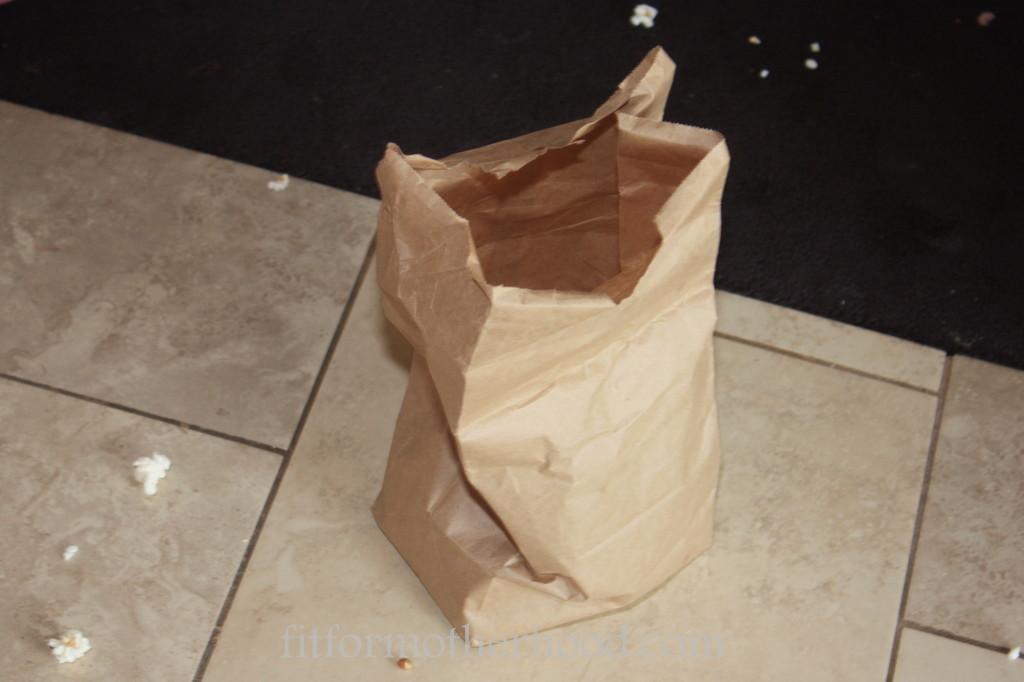 wiaw - popcorn bag