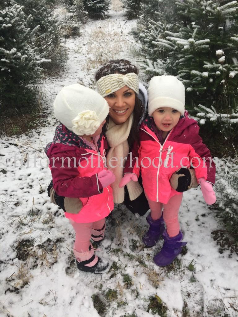 mimm - tree hunting 2015 mom mckenzie mckayla