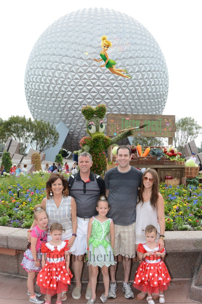 epcot family tinkerbell