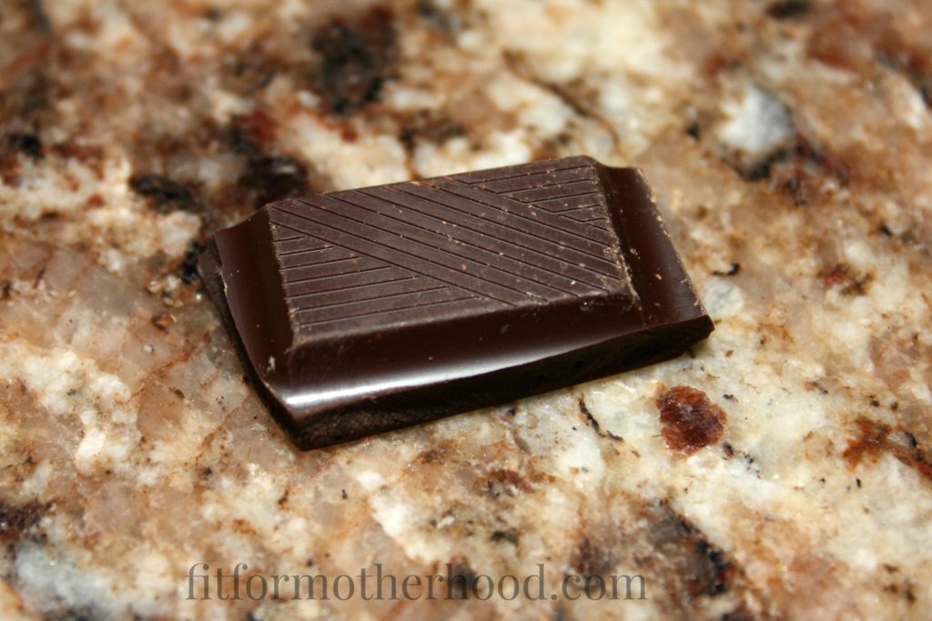 dark chocolate square trader joes
