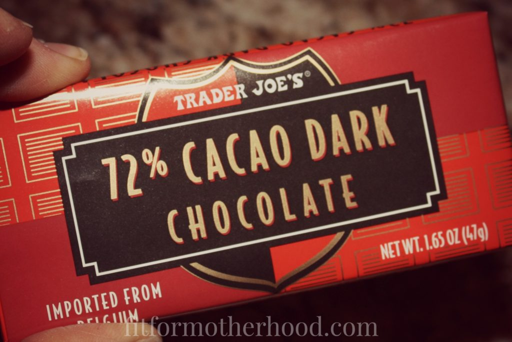 trader joes 72 cacao dark chocolate