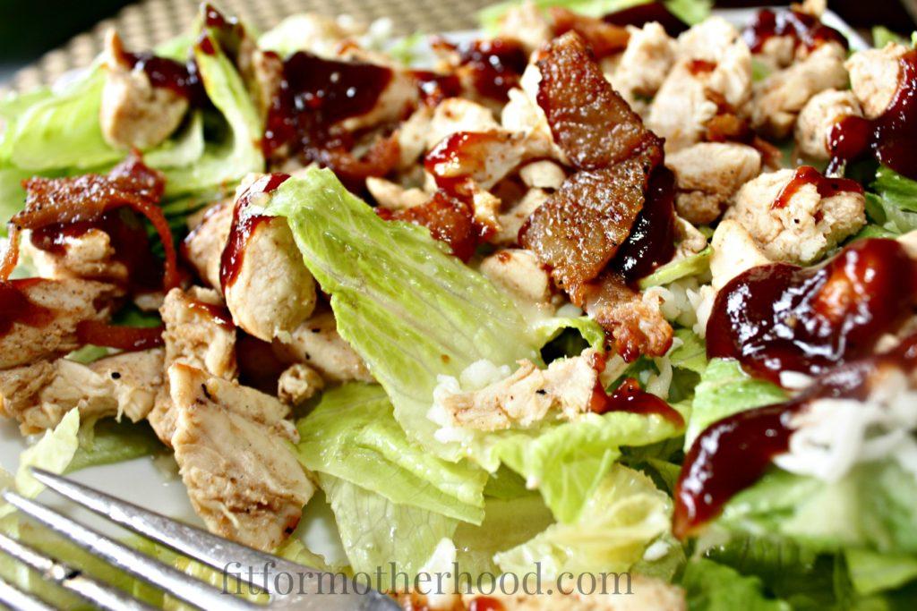 BBQ Chicken Salad homemade