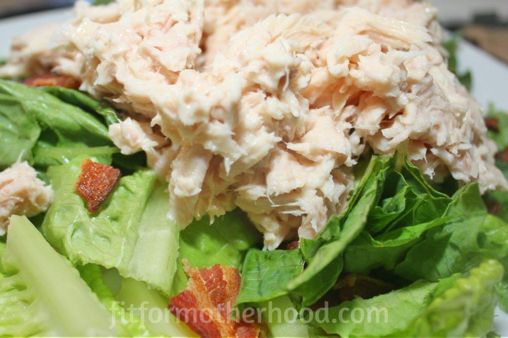 tuna salad with bacon 3