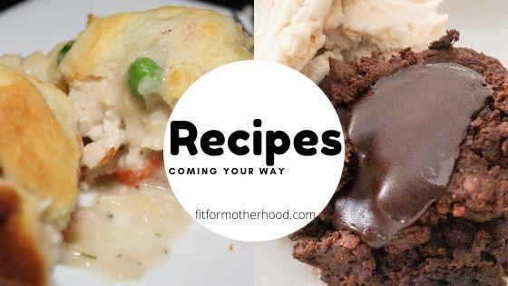 Recipe Week #1